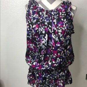Violet & Claire Sleeveless Career Wear Blouse